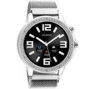 OOZOO Smartwatch Mesh Zilver   Q00305