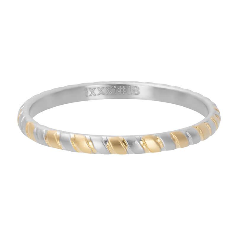 iXXXi Vulring Rope Zilver / Goud | Maat 17