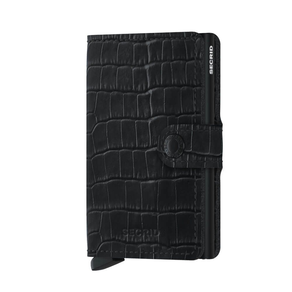Secrid Mini Wallet Portemonnee Cleo Black