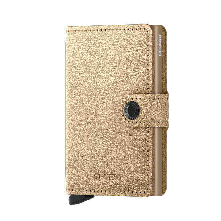Secrid Mini Wallet Portemonnee Antique Gold