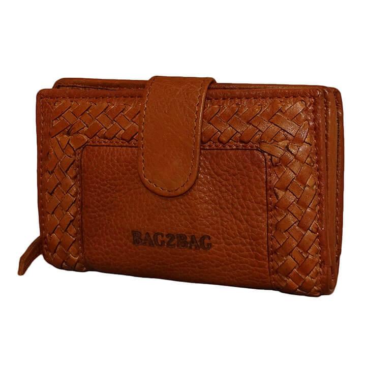 Bag2Bag Portemonnee Elvas Cognac