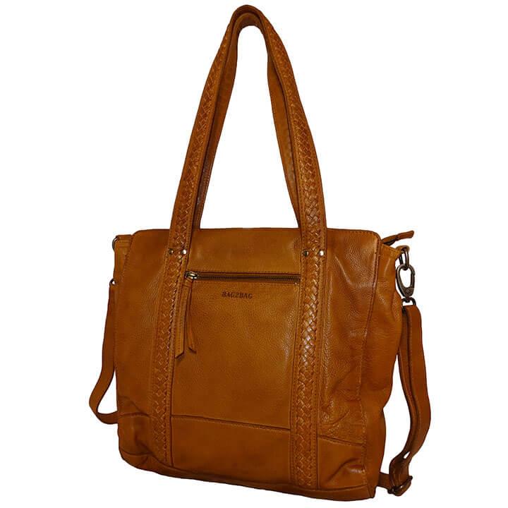 Bag2Bag Shopper / Schoudertas Elvas Cognac