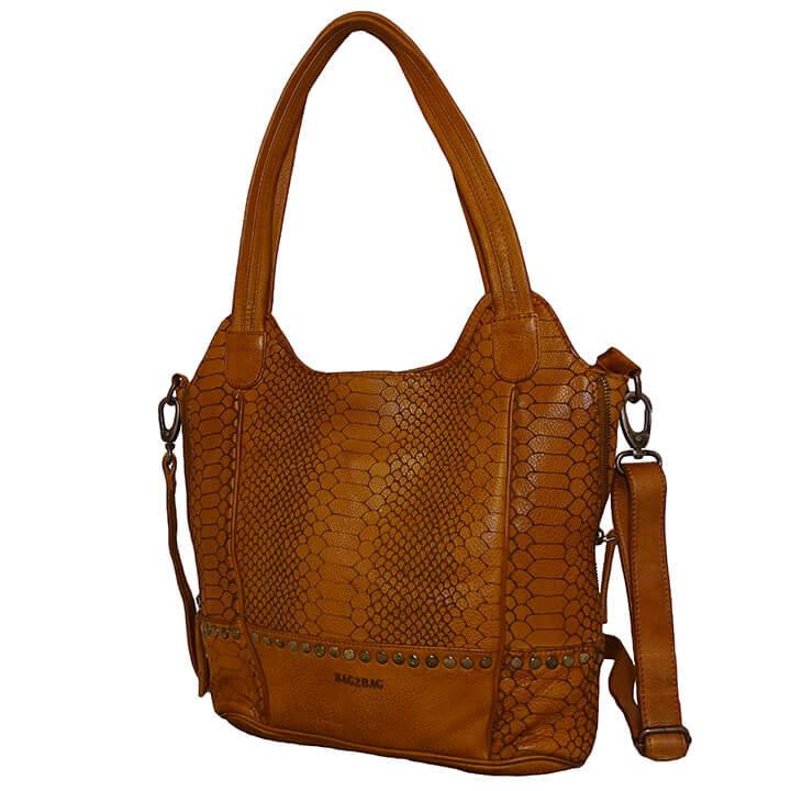 Bag2Bag Shopper / Schoudertas Merida Cognac