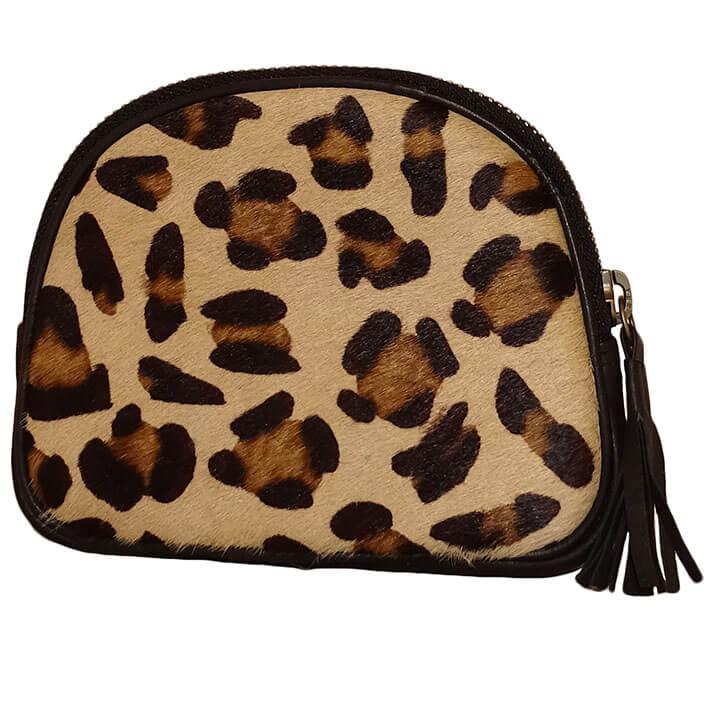 Bear Design Leren Etui Black Cheetah