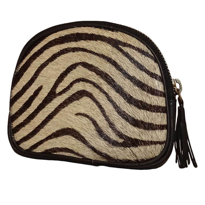 Bear Design Leren Etui Zebra