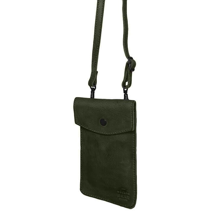 Bear Design Phone Bag Priya Telefoontasje Groen