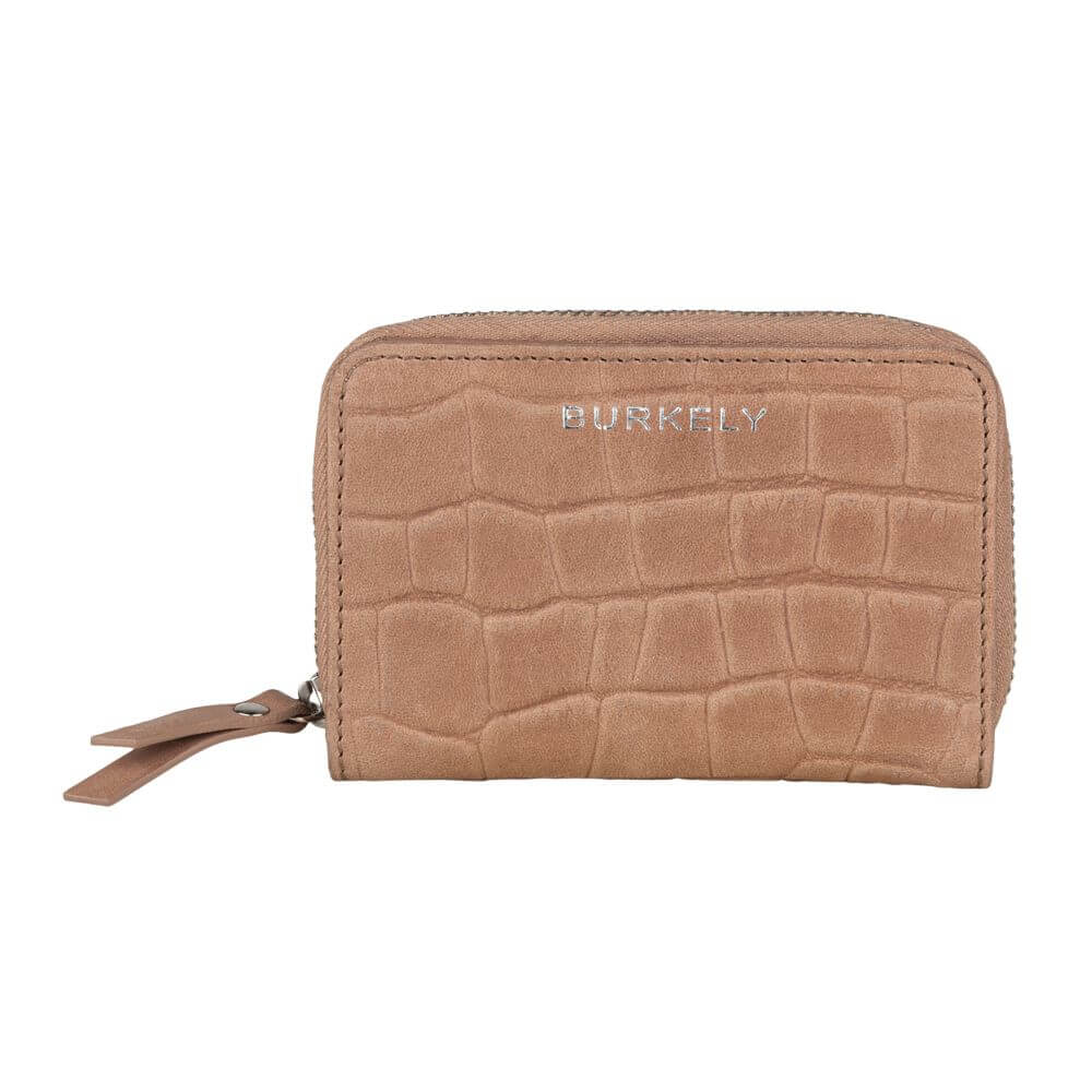 Burkely Croco Caia Wallet S Portemonnee RFID Taupe