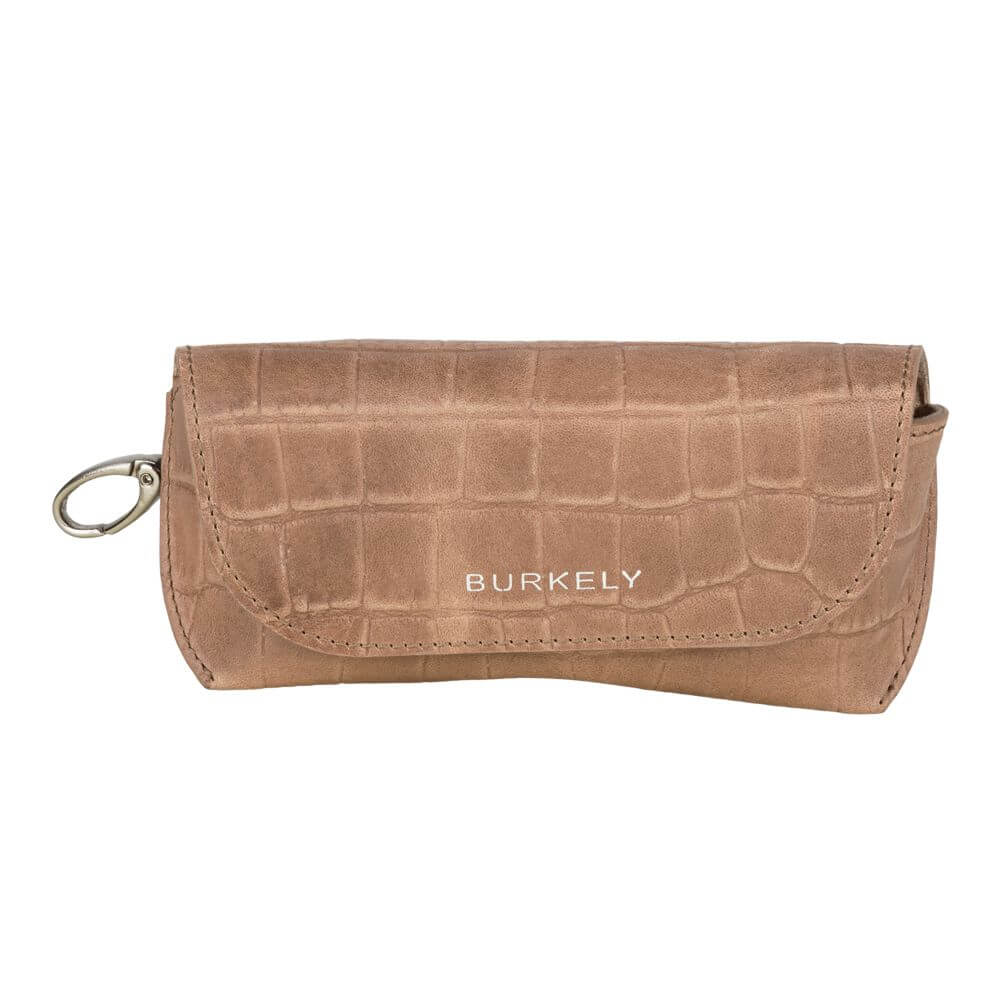 Burkely Croco Caia Sunglass Case Taupe