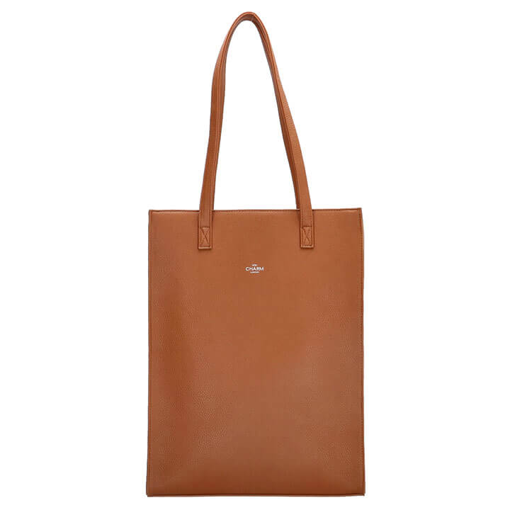 Charm London Shopper 15.6'' Stratford Cognac