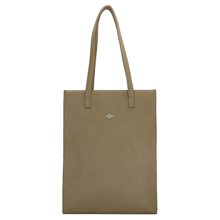 Charm London Shopper 15.6'' Stratford Natuur Groen