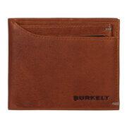Burkely Antique Avery Billfold Low & CC Holder RFID Cognac