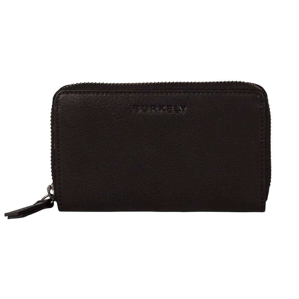 Burkely Antique Avery Wallet M Portemonnee RFID Zwart