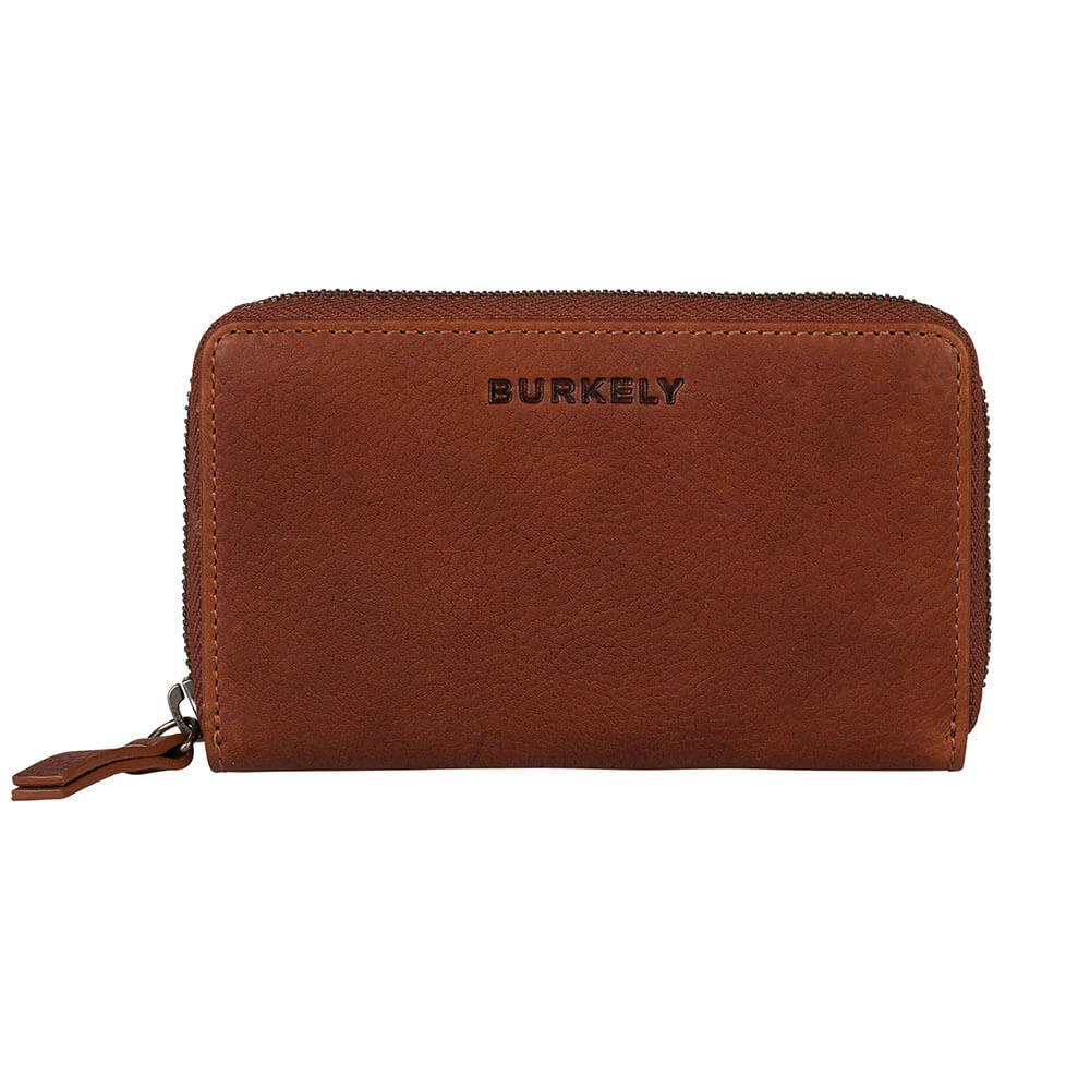 Burkely Antique Avery Wallet M Portemonnee RFID Cognac