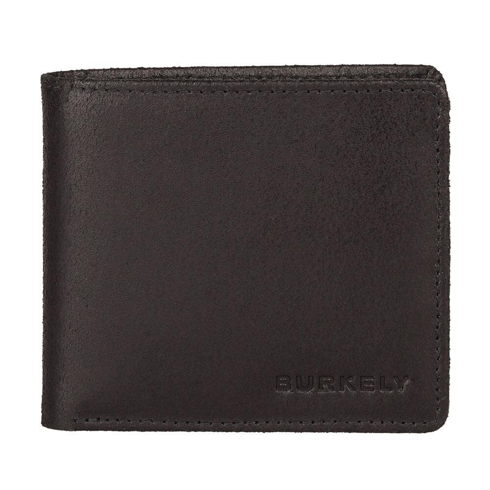 Burkely Vintage Dax Lage Billfold RFID Zwart