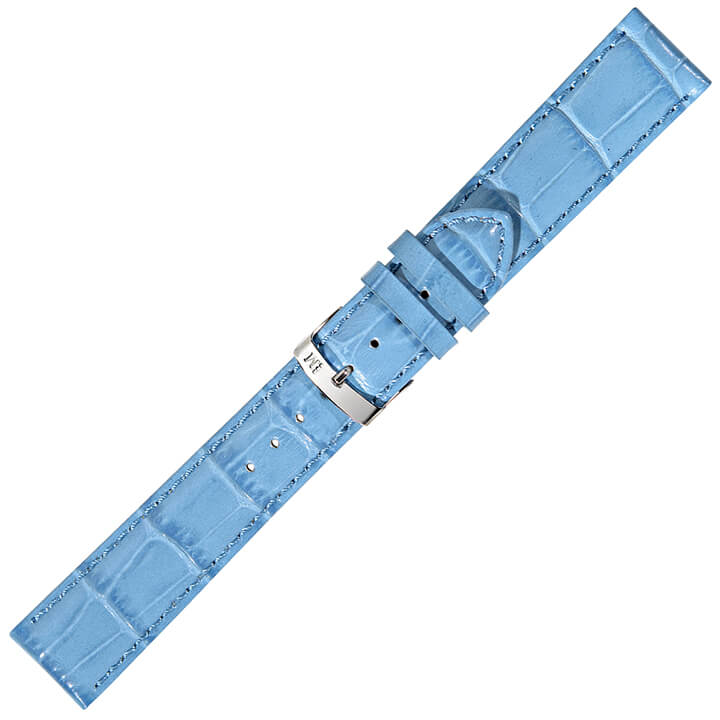 Morellato Horlogebandje Samba Alligator Turquoise