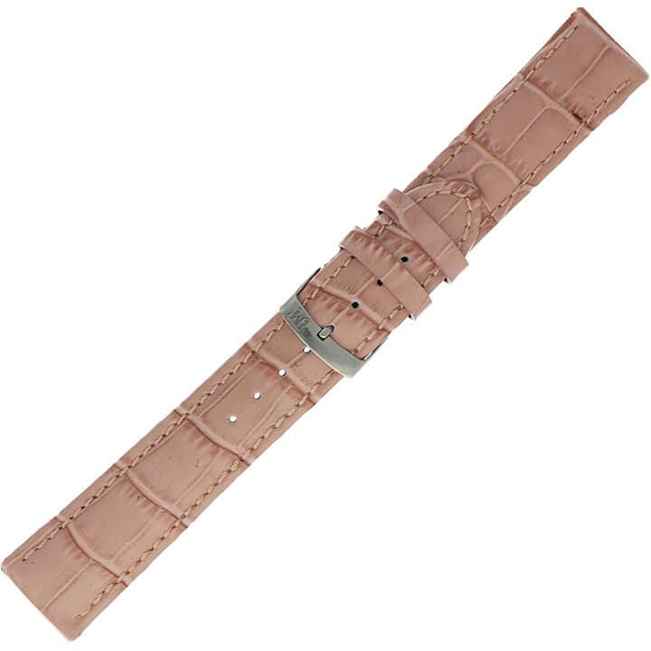 Morellato Horlogebandje Samba Alligator Roze 20mm