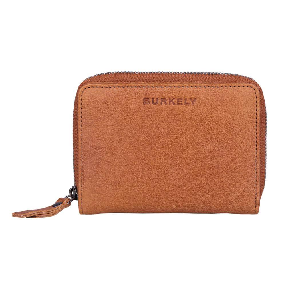 Burkely Just Jackie Wallet M Portemonnee RFID Cognac