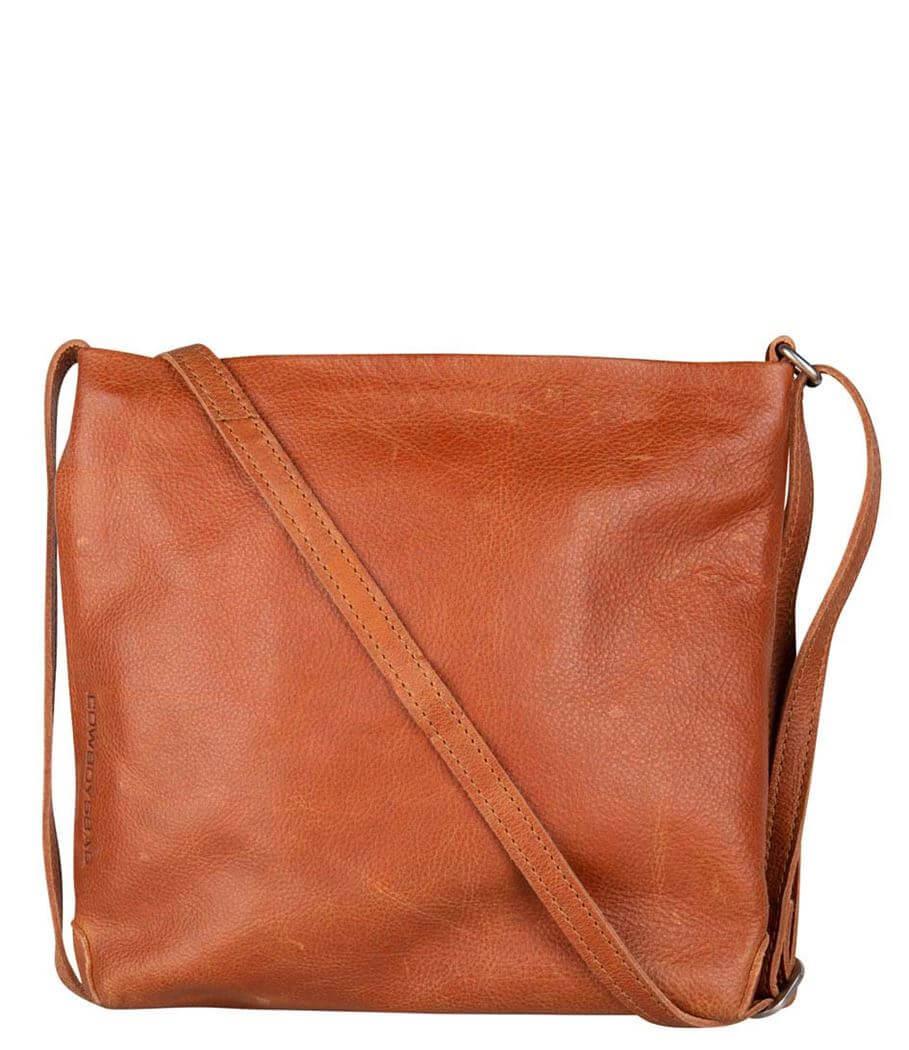 Cowboysbag Crossbody Schoudertas Bag Walmer Cognac