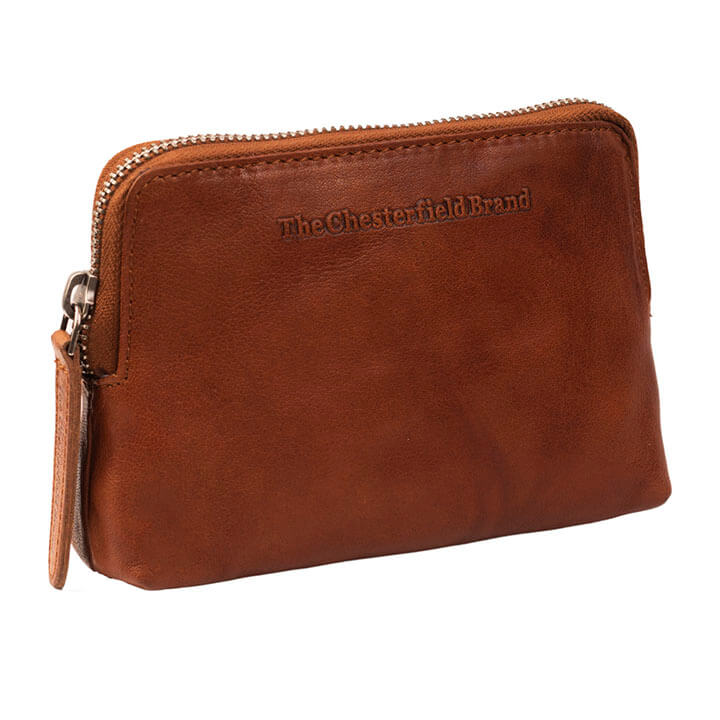 Chesterfield Etui Portemonnee RFID Houston Cognac