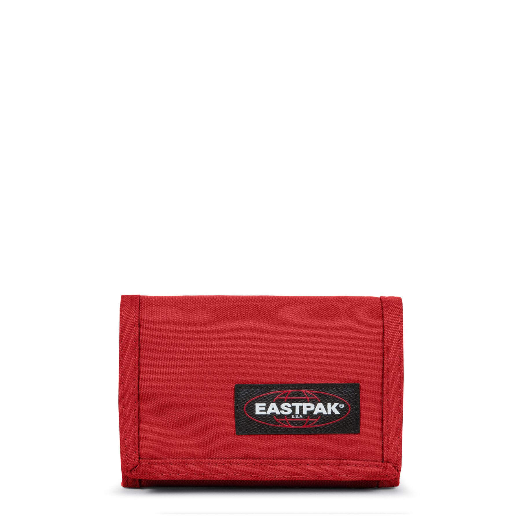Eastpak Crew Portemonnee met Klittenbandsluitting Apple Pick Red