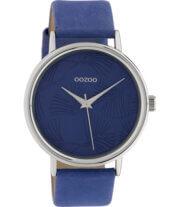 OOZOO Timepieces Horloge Blauw | C10394
