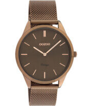 OOZOO Timepieces Horloge Vintage Bruin | C20009