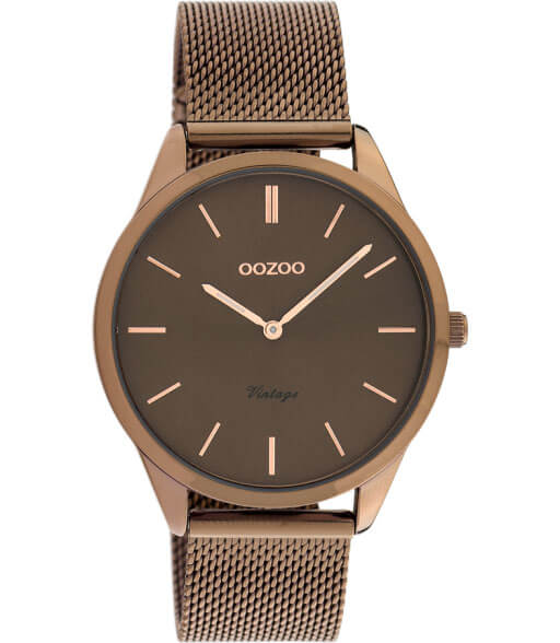 OOZOO Timepieces Horloge Vintage Bruin   C20009
