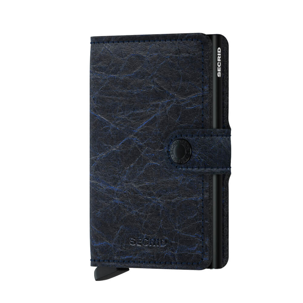 Secrid Mini Wallet Portemonnee Crunch Blue