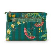 Pip Studio Toilettas Set Cosmetic Bag Combi Fleur Grandeur Green