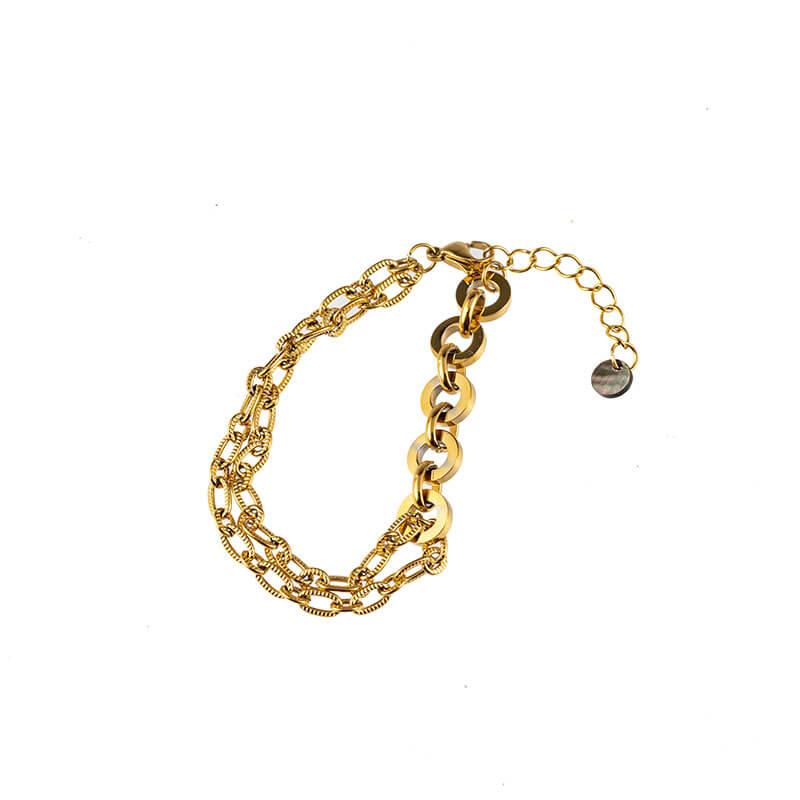 Go Dutch Label Chain Armband Goud
