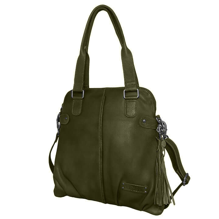 Bag2Bag Shopper / Schoudertas Mildura Olijf