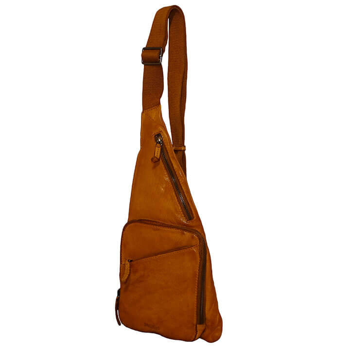 Bag2Bag Crossbody Rugzak / Bodybag Cayo Cognac