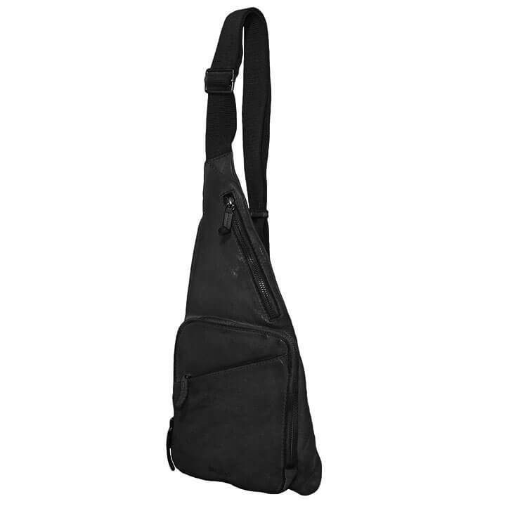 Bag2Bag Crossbody Rugzak / Bodybag Cayo Zwart