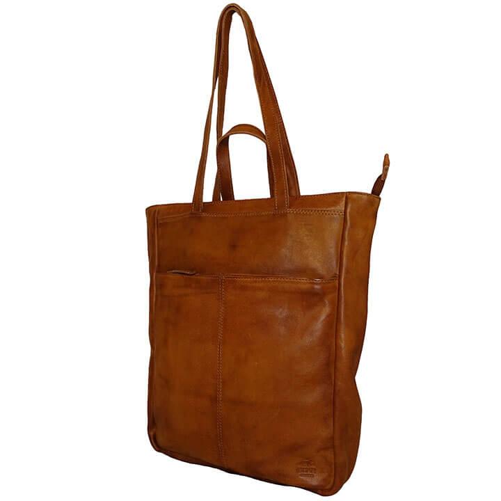 Bear Design Shopper / Rugzak Lauryn Cognac