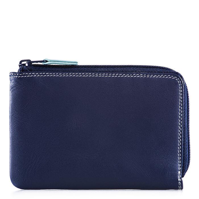 Mywalit 8cc Zip Around Wallet Denim