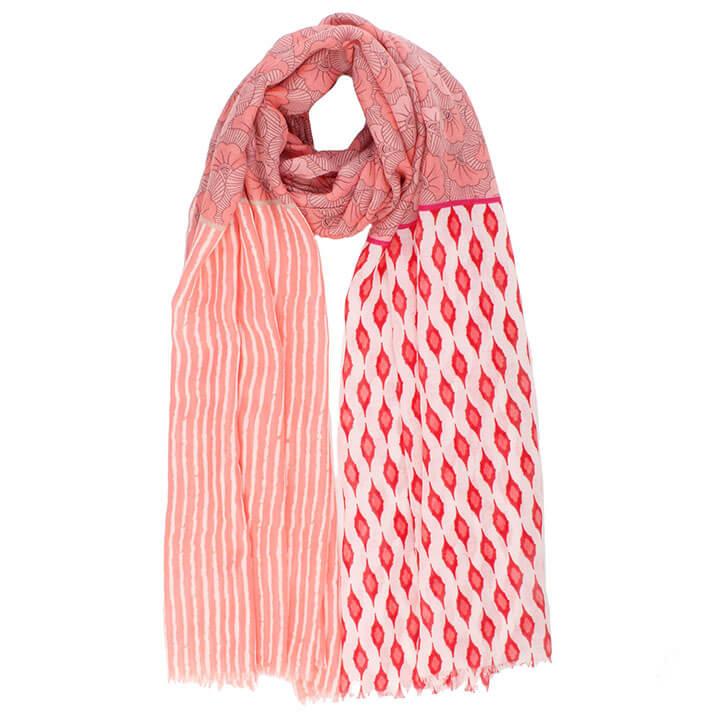 Langwerpige Sjaal Geraldina Roze