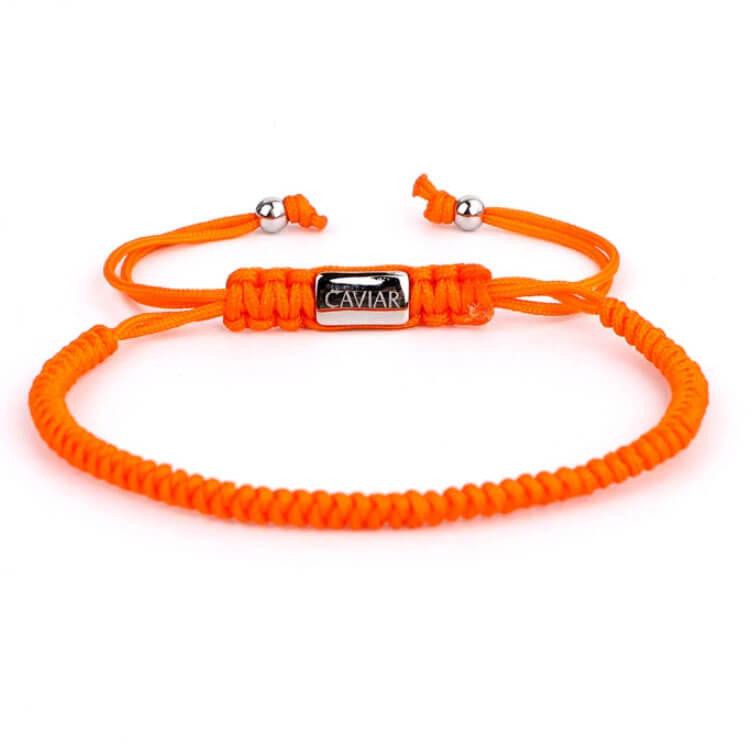 Caviar Collection Armband Neon X Orange