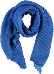 Sarlini Langwerpige Plisse Sjaal Kobalt