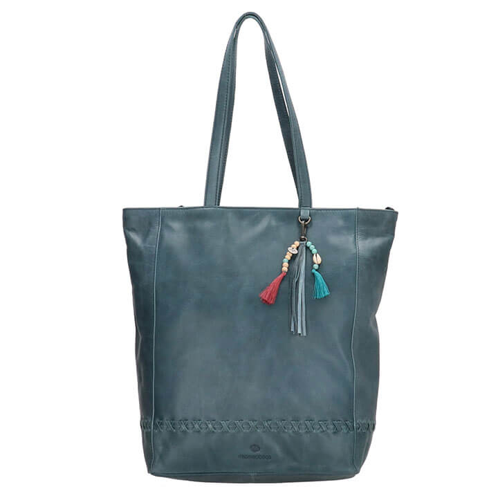 Micmacbags Shopper Friendship Jeans Blauw