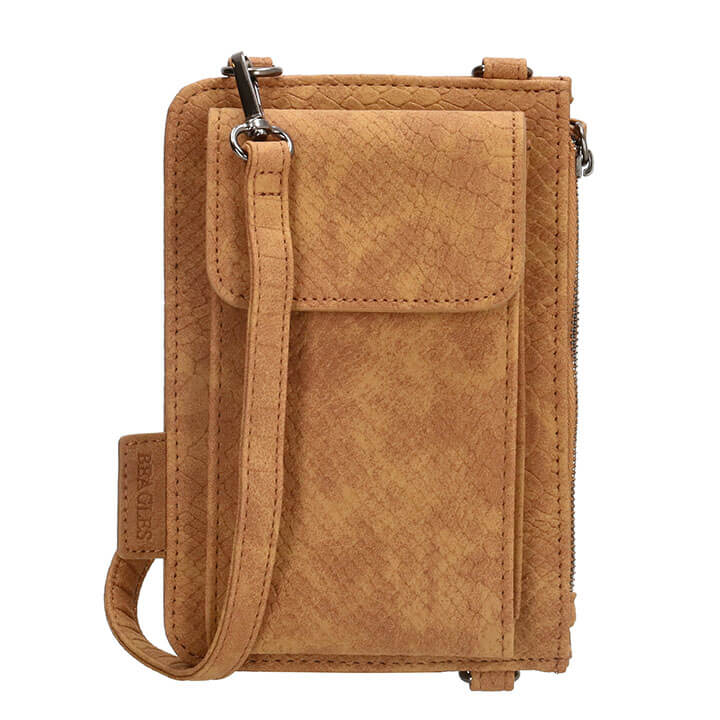 Beagles Phone Bag Telefoontasje Anaconda Cognac