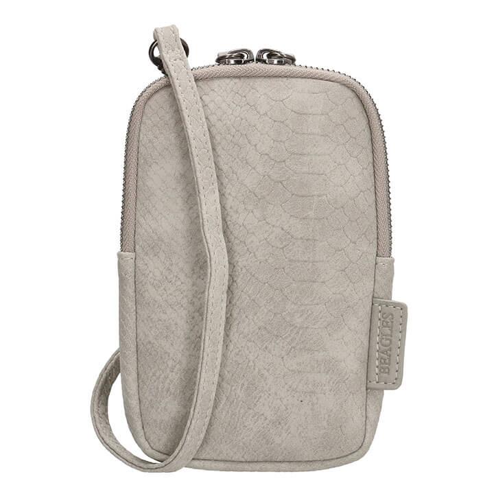 Beagles Phone Bag Telefoontasje Anaconda Licht Grijs