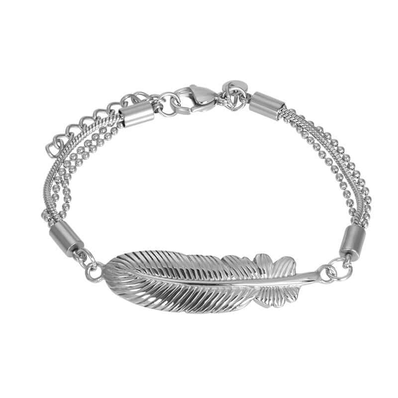 iXXXi Armband Feather Zilver