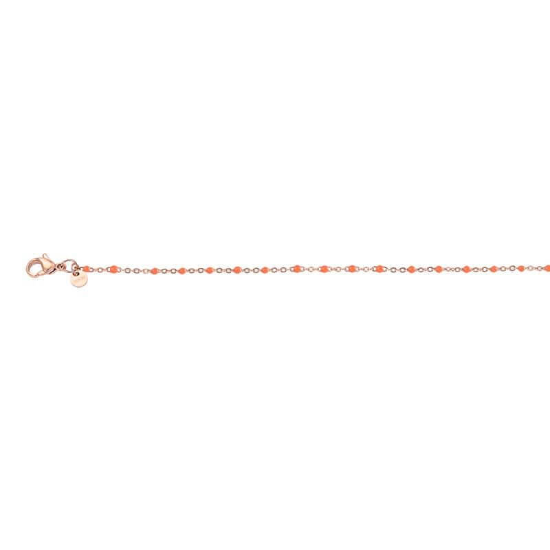 iXXXi Ketting Collier Slim Ball Coral Rosé 45 cm
