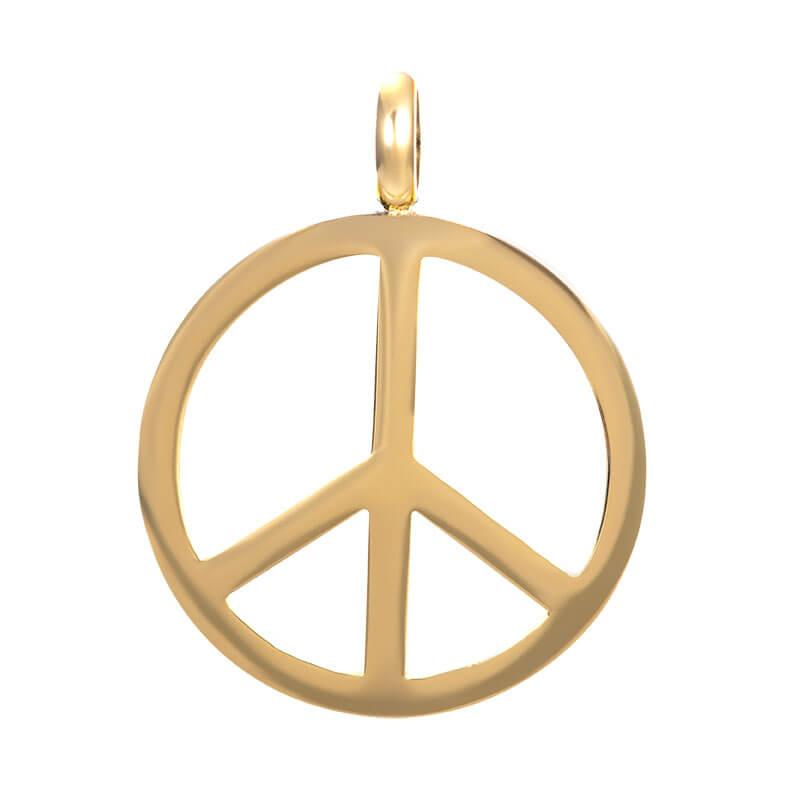 iXXXi Charm Pendant Peace Goud