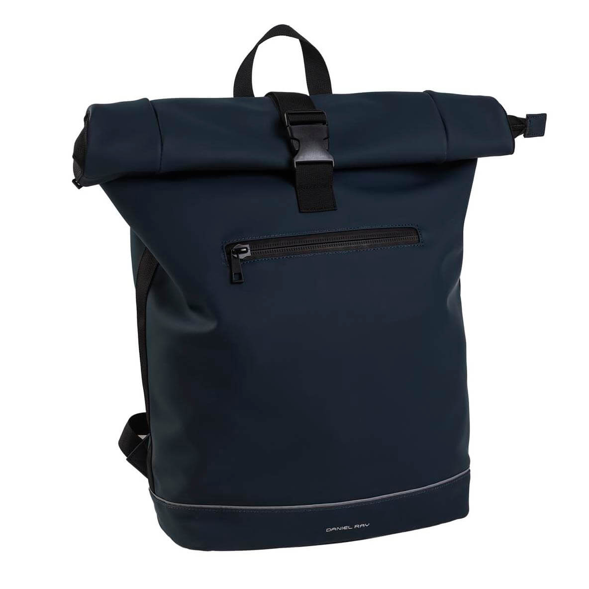 Daniel Ray Waterproof Rolltop Rugzak 15.6'' Highlands Navy Blauw