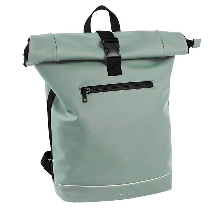 Daniel Ray Waterproof Rolltop Rugzak 15.6'' Highlands Mint Groen
