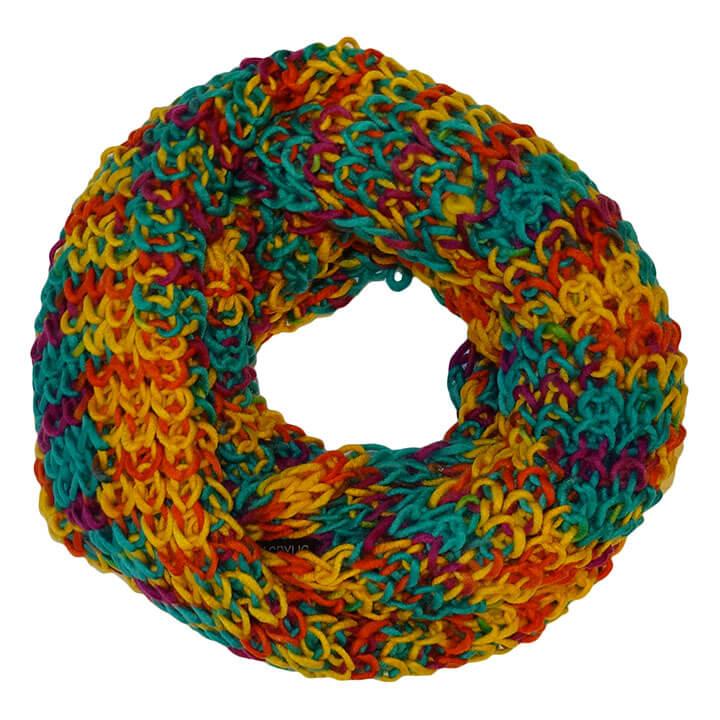 Gebreide Winter Colsjaal Multi-Color