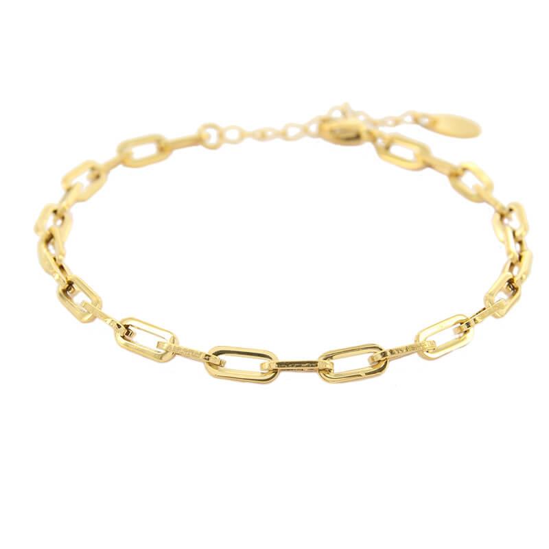 Kalli Schakel Armband Open Goud | 2608