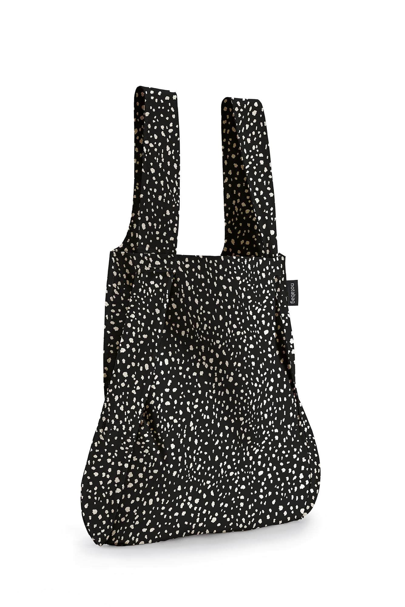 Notabag Rugzak / Shopper Black Sprinkle