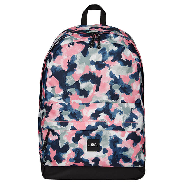 O'Neill Rugzak Coastline Backpack 15'' Blue AOP W/ Red